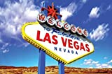 Welcome To Fabulous Las Vegas Sign Photo Art Print Poster 36x24