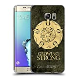 Official HBO Game Of Thrones Tyrell Dark Distressed Sigils Soft Gel Case for Samsung Galaxy S6 edge+ / Plus