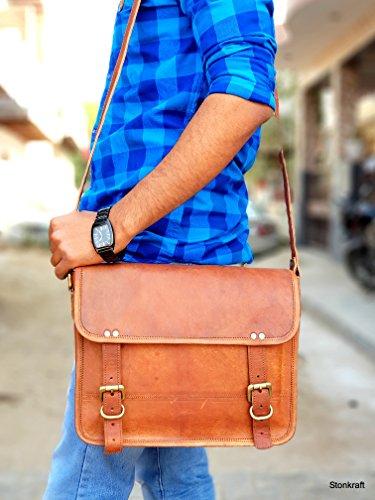 marrón Bolso Marrón 5 para hombre 10x13x3 hombro StonKraft al gTdqw4YY