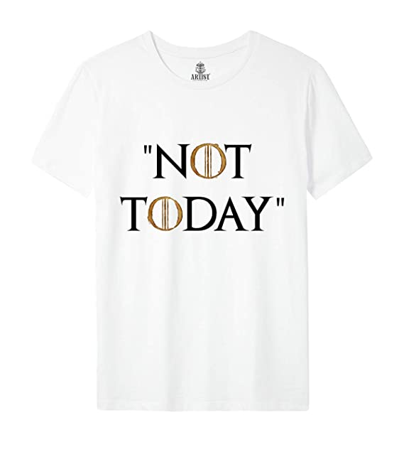 Trono 8 Shirt Spade Arya Stark Of T Di Game Season Thrones Not Today QrCtdsh