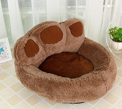 VEA-DE Letto per Animali di Alta qualità, Simpatico Peluche Orso Orso Orso Claw Nido di Cane Nido di Gatto Nido di Animale Domestico Marronee 3a57e9