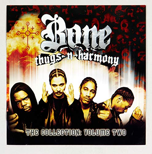 Bone Thugs N Harmony Poster Flat 2000 The Collection Vol Two Album Promo 12x12 2 sided