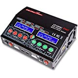 UP120AC Duo Dual 2 Port (2x 12Amps, 2x 120Watts, 240Watts Total): LiPo, LiHV, LiIon, LiFe, NiCd, NiMh, Pb AC/DC Balancing Battery Multi-Chemistry Multicharger with 300Watt Power Supply