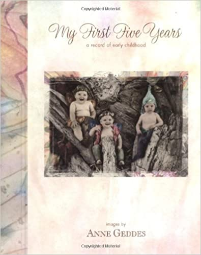 Fairy Edition My First Five Years Baby Record Book