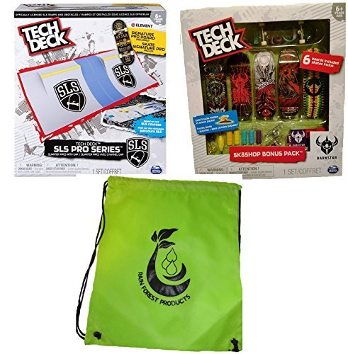 Tech Deck Bundle SLS Pro Series Skate Park Quarter, used for sale  Delivered anywhere in Canada