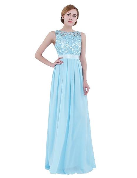CHICTRY Vestido de Fiesta Largo para Boda Vestido de Dama de Honor de la Novia Vestido