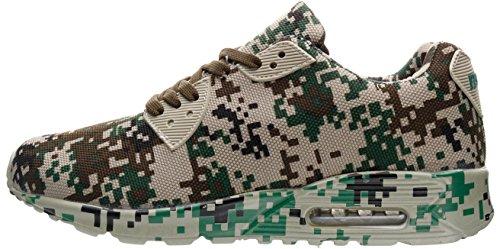 46 36 Colores Unisex Verde Camuflaje Adulto Zapatillas de JOOMRA Camuflaje Deporte 3 S0C88fzn