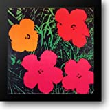 Flowers, 1964 30x30 Framed Art Print by Warhol, Andy