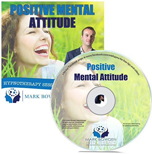 Positive Mental Attitude Self Hypnosis CD - Hypnotherapy CD to Overcome Automatic Negative Thoughts and for a More Optimistic State of Mind
