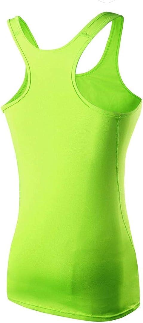 M SOUTHSKY Women Yoga Tank Tops Racerback Sleeveless Shirt Sports Athletic GymTennis Yoga Workout Tops Green