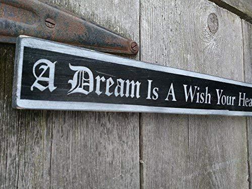 Play Room Decor Home Decor Nursery Sign Kid/'s Room Decor Dream on Dreamer| Wood Signs Inspirational Sign Craft Room Decor