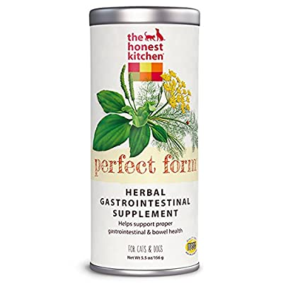 The Honest Kitchen Perfect Form: Natural Human Grade Digestive Supplement for Dogs & Cats, 5.5 oz from The Honest Kitchen