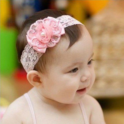 Baby Girl Infant Beautiful Kids Headband Hair Band Hair Flower Hair  Accessories  Amazon.co.uk  Kitchen   Home 1e996f48023
