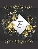 E Alphabet Notebook Journal Gift: Attractive