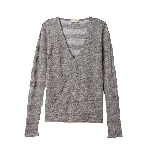 Royal Robbins Women's Tupelo Twist Pullover Top, Light Charcoal, Medium
