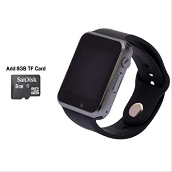 QSJWLKJ Reloj Inteligente Bluetooth con Reloj de Pulsera con ...
