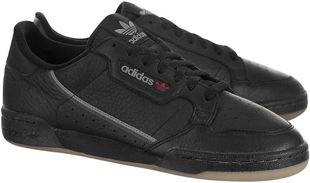 adidas Continental Herren 80 Schuhe Schwarz Grethr Gum3