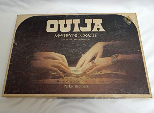Ouija Mystifying Oracle William Fuld Talking Board Set 1972 Edition by Parker Brothers (Ouija Board Piece)