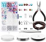 Jewelry Making Kit,Yotako Jewelry Making Supplies,Jewelry Making Beads for Daily Hardcarf s and Jewelry Repairs