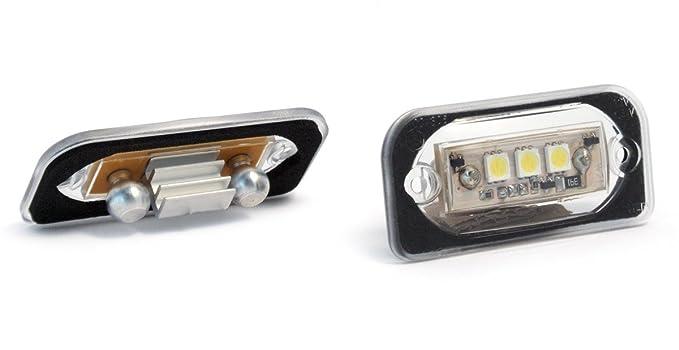 R.D.I Deutschland Autoteile 610775 Devil Eyes 610775 LED KennzeichenbeleuchtunC-Klasse Limousine E-Gepr/üft und Eintragungsfrei