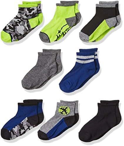 Stride Rite Boys' 8-Pack Socks