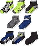 Stride Rite Little Boys' 8-Pack Quarter Socks