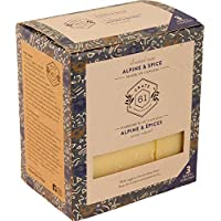 Crate 61 Alpine & Spice Soap 3 pack, 100% Vegan Cold Process, scented with premium essential oils, for men and women…