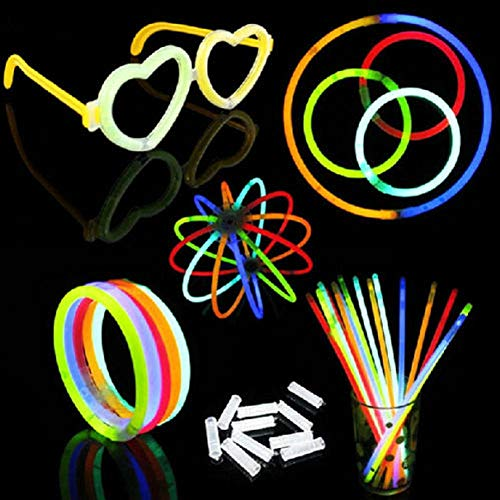 FidgetGear 100/200 Light Up Foam Sticks LED Wands Rally Rave Batons DJ Flashing Glow Sticks 200Pcs from FidgetGear