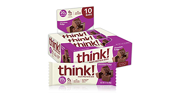 thinkthin alta proteína, 2.1 oz (Pack de 10)