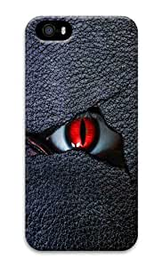 IMARTCASE iPhone 5S Case, Scary Evil Eye PC Hard Plastic Case for Apple iPhone 5S and iPhone 5 by lolosakes by lolosakes