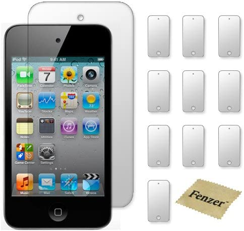 10 Pack Fenzer Clear Screen Protectors for Apple iPod Touch 2nd 3rd Gen Transparent LCD Touch Screen Film Guard Cover Shields