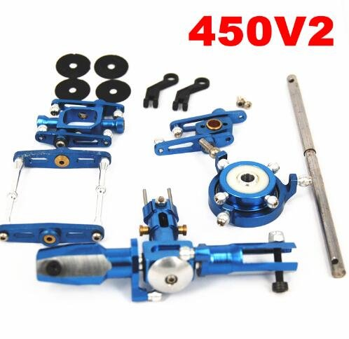 Trex 450SE 450V2 Upgrade Main Rotor Head Set Upgrade Rc Helicopter (Metal Main Rotor)