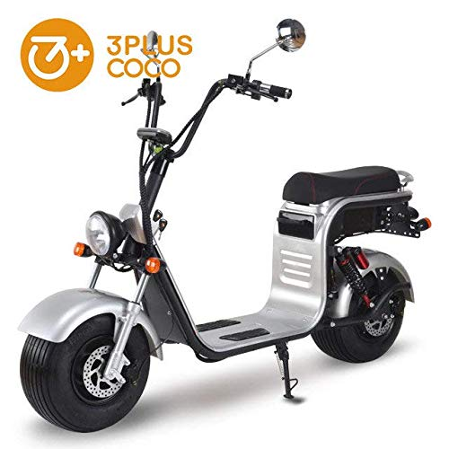 Ciclomotor electrico URBET 1.500W 40aH CITYCOCO (Matriculable, legal en ciudad)