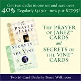 Prayer of Jabez Cards and Secrets of the Vine Cards: Two 50-Card Decks