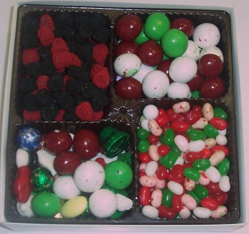 Scott's Cakes Large 4-Pack Christmas Mix Jelly Beans, Deluxe