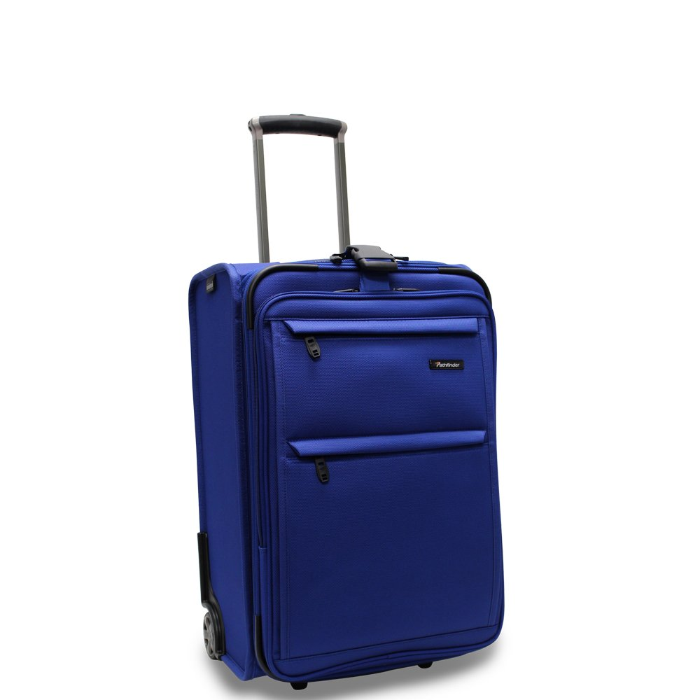 Pathfinder Revolution Plus 22 Inch Expandable Business Carry- On 22 Inch, Cobalt Blue, One Size by Pathfinder