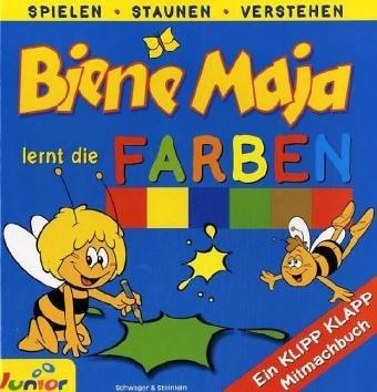 Biene Maja lernt die Farben
