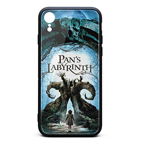 Compatible iPhone XR Case Tempered Glass Pan's-Labyrinth-(1)- Shock-Absorption Skid-Proof Slim TPU Protective Case for iPhone XR 6.1 Inch