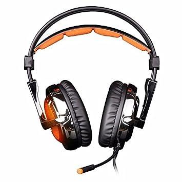 HHLUW Auriculares Inalámbricos Bluetooth Vibración 4D Estéreo con Cable USB Gaming Headset Juego De Auriculares