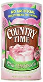 Country Time Pink Lemonade Drink Mix, (Makes 34 Quarts) 82.5-Ounce Canisters (Pack of 2 )