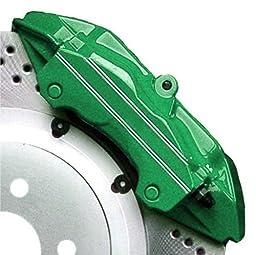 High Temperature High Gloss Self Leveling Brush On Green G2 Brake Caliper Paint System Kit