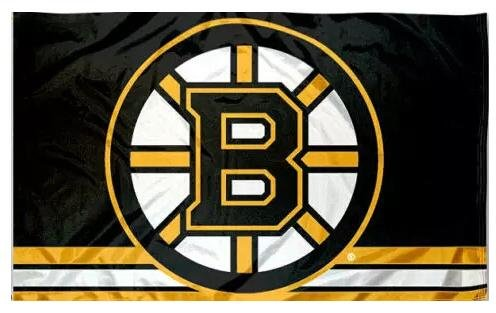 Beautiful Life NHL Sign Hockey Sports Fan Exclusive Flag (Boston Bruins) (Brunswick Sign)