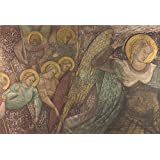 Perfect effect canvas ,the High Resolution Art Decorative Prints on Canvas of oil painting 'Spinello Aretino Saint Michael and Other Angels ', 16 x 24 inch / 41 x 60 cm is best for Bar decoration and Home gallery art and Gifts