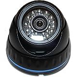 1080P HD-TVI HD-CVI AHD 960H IR Black DOME SECURITY SURVEILLANCE CAMERA Weatherproof Infrared