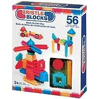 (56-Piece) - Battat Bristle Block 56-Piece Basic Building Set