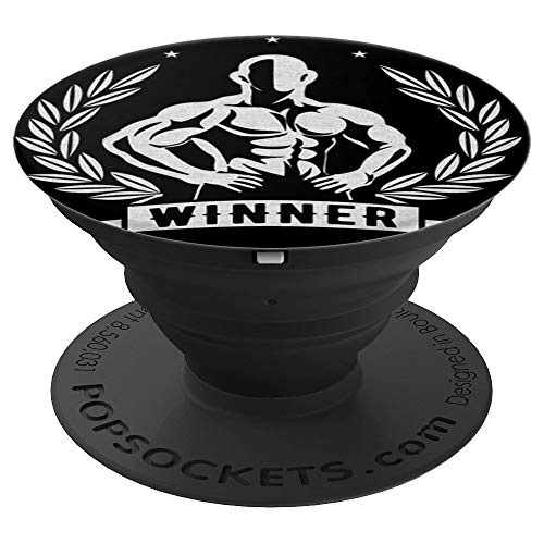 Winners Gym - Winner, Gym, Fitness and in Winner in Life - PopSockets Grip and Stand for Phones and Tablets