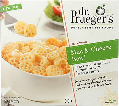 Dr. Praeger's Mac and Cheese Bowl, 8 Ounce