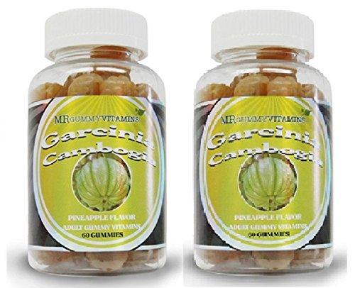 Garcinia Cambogia Gummies New 2 Pk 100 Natural Appetite