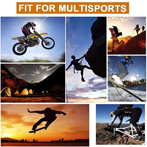 HASAGEI Gants Tactiques Homme Sport de Plein air pour Travail,Camping,Motocyclisme,Randonné,Vélo,Escalade,Combat,Airsoft… 5