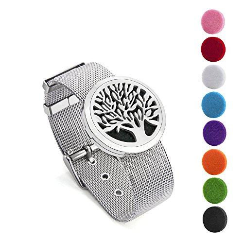BESTTERN Aromatherapy Essential Bracelet 316L Stainless